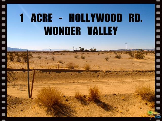 0 Hollywood Lane, 29 Palms, CA 92277 (MLS #18302276PS) :: Team Wasserman