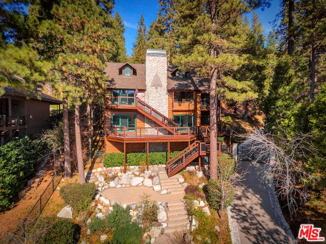 27427 N North Bay Road, Lake Arrowhead, CA 92352 (MLS #18305402) :: The John Jay Group - Bennion Deville Homes