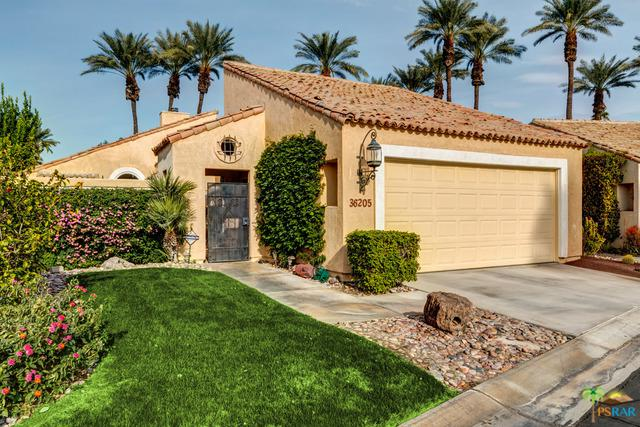 36205 Avenida De Las Montanas, Cathedral City, CA 92234 (MLS #18307132PS) :: The John Jay Group - Bennion Deville Homes