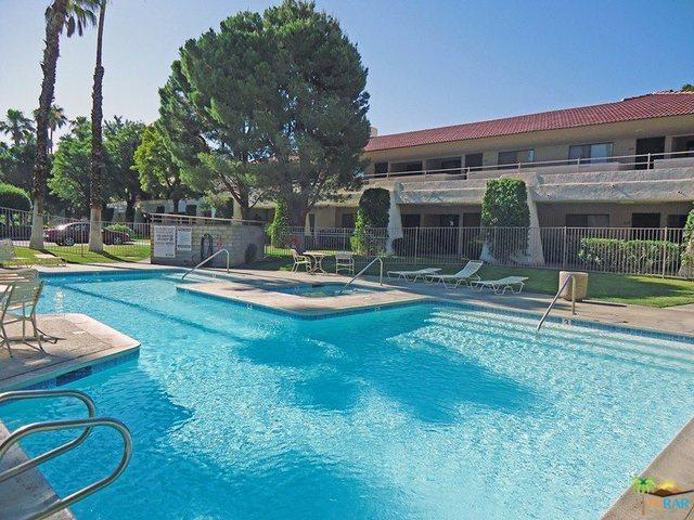 675 N Los Felices Circle #117, Palm Springs, CA 92262 (MLS #18311586PS) :: The John Jay Group - Bennion Deville Homes