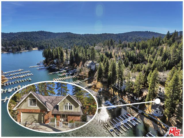 27475 N Bay Road, Lake Arrowhead, CA 92352 (MLS #18314746) :: The John Jay Group - Bennion Deville Homes