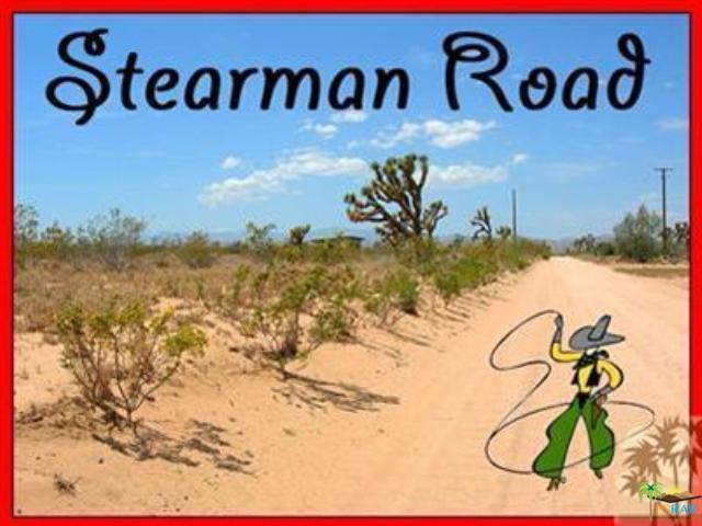 0 Stearman Road, Landers, CA 92285 (MLS #18315580PS) :: The John Jay Group - Bennion Deville Homes