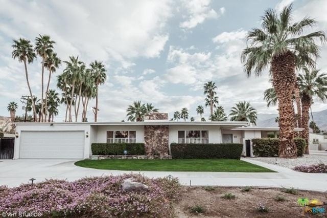 975 E Marion Way, Palm Springs, CA 92264 (MLS #18317116PS) :: Team Wasserman
