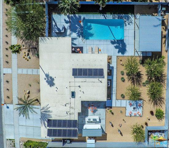 593 N Juanita Drive, Palm Springs, CA 92262 (MLS #18317322PS) :: The John Jay Group - Bennion Deville Homes
