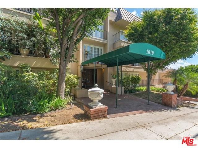 1010 Palm Avenue #106, West Hollywood, CA 90069 (MLS #18323912) :: The John Jay Group - Bennion Deville Homes