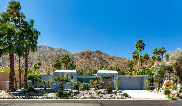 1275 N Vista Vespero, Palm Springs, CA 92262 (MLS #18329254PS) :: The John Jay Group - Bennion Deville Homes