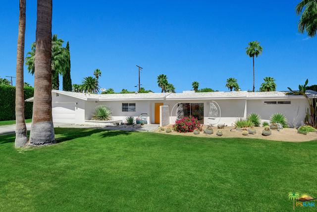 1350 E El Alameda, Palm Springs, CA 92262 (MLS #18332656PS) :: The John Jay Group - Bennion Deville Homes