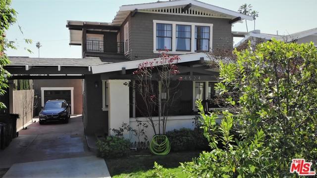 4524 W Washington Boulevard, Los Angeles (City), CA 90016 (MLS #18333812) :: The John Jay Group - Bennion Deville Homes