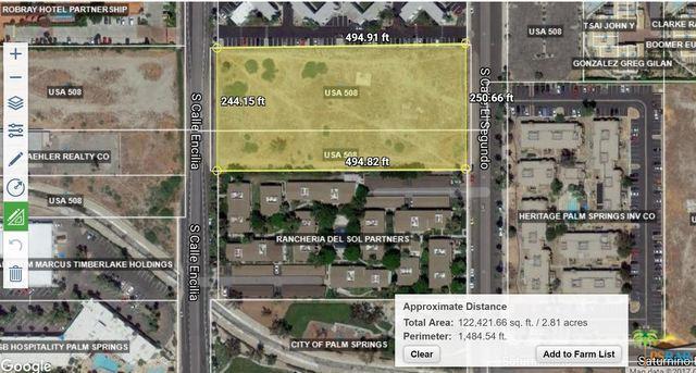 0 Calle Encillia, Palm Springs, CA 92262 (MLS #18334718PS) :: Brad Schmett Real Estate Group