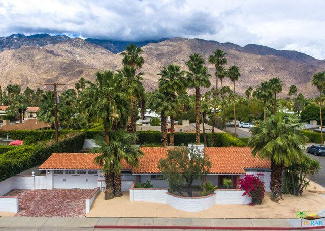 1679 E San Lorenzo Road, Palm Springs, CA 92264 (MLS #18340704PS) :: Deirdre Coit and Associates