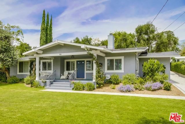 55 W Altadena Drive, Altadena, CA 91001 (MLS #18342360) :: Team Wasserman