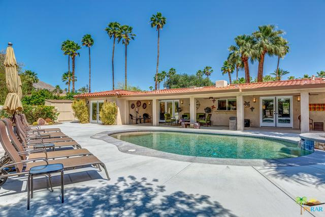 1057 E Marshall Way, Palm Springs, CA 92262 (MLS #18342944PS) :: The John Jay Group - Bennion Deville Homes