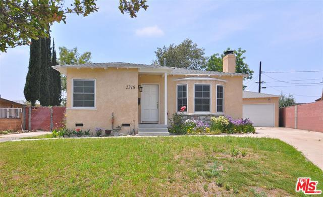 2316 Peyton Avenue, Burbank, CA 91504 (MLS #18354826) :: Hacienda Group Inc