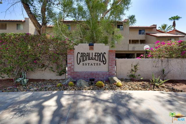 280 S Avenida Caballeros #244, Palm Springs, CA 92262 (MLS #18370388PS) :: The John Jay Group - Bennion Deville Homes