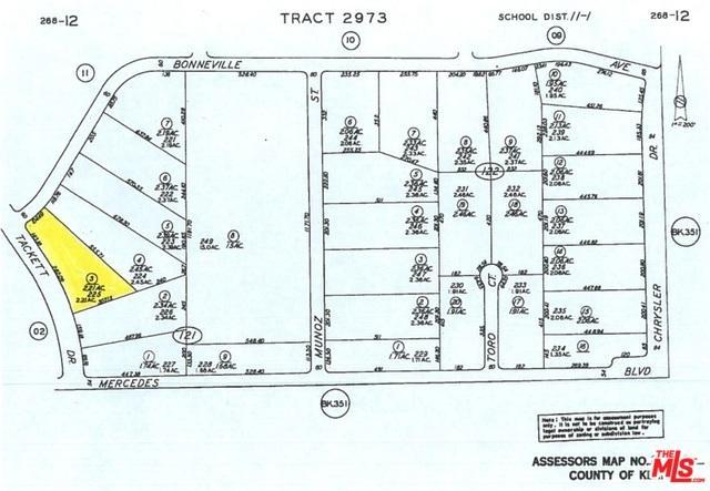 0 Tackett Dr.Bonneville Ave, California City, CA 93505 (MLS #18371792) :: Team Wasserman