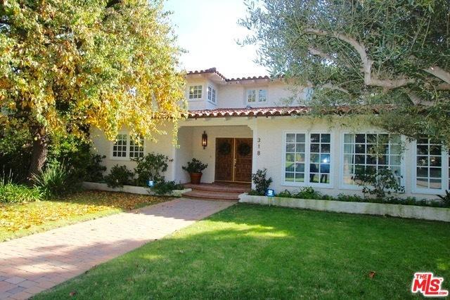 318 Georgina Avenue, Santa Monica, CA 90402 (MLS #18374338) :: The John Jay Group - Bennion Deville Homes