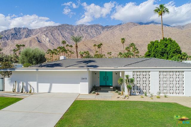 2415 S Yosemite Drive, Palm Springs, CA 92264 (MLS #18381668PS) :: Brad Schmett Real Estate Group