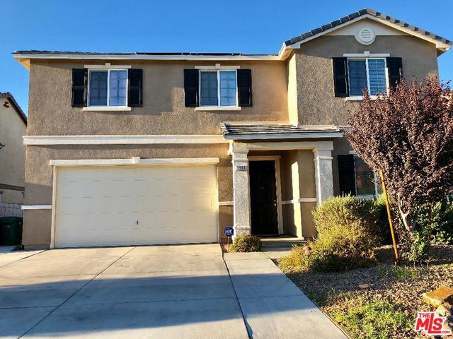 3561 Topaz Lane, Lancaster, CA 93535 (MLS #18388136) :: The John Jay Group - Bennion Deville Homes