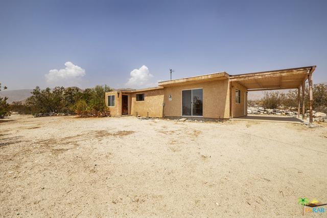 10154 Big Morongo Canyon Rd, Morongo Valley, CA 92256 (MLS #18389032PS) :: Deirdre Coit and Associates