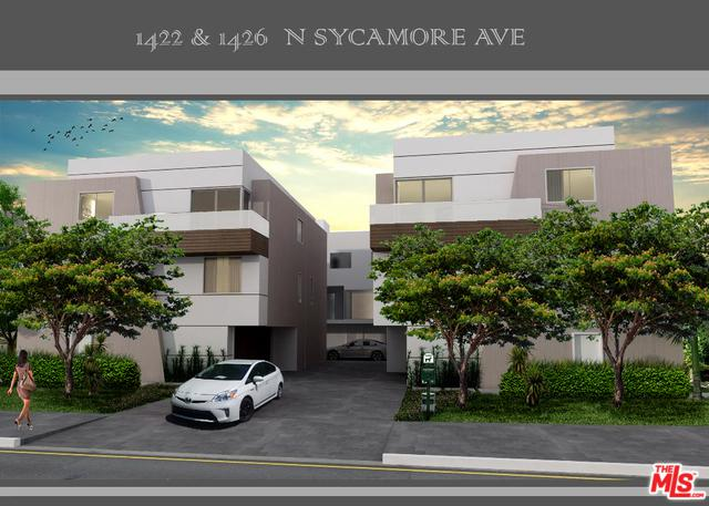 1422 N Sycamore Avenue, Los Angeles (City), CA 90028 (MLS #18396078) :: Deirdre Coit and Associates