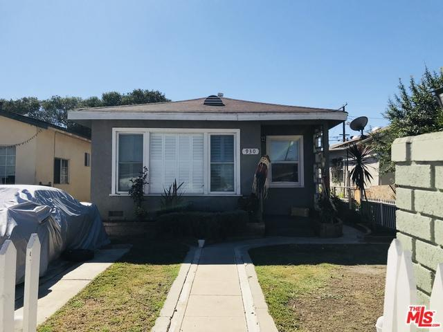 930 E 112th Street, Los Angeles (City), CA 90059 (MLS #18396996) :: Deirdre Coit and Associates