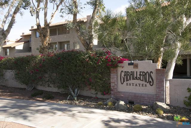 280 S Avenida Caballeros #104, Palm Springs, CA 92262 (MLS #18407732PS) :: Team Wasserman