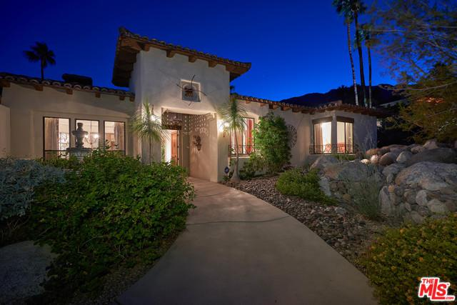 955 W Via Livorno, Palm Springs, CA 92262 (MLS #18407750) :: The John Jay Group - Bennion Deville Homes
