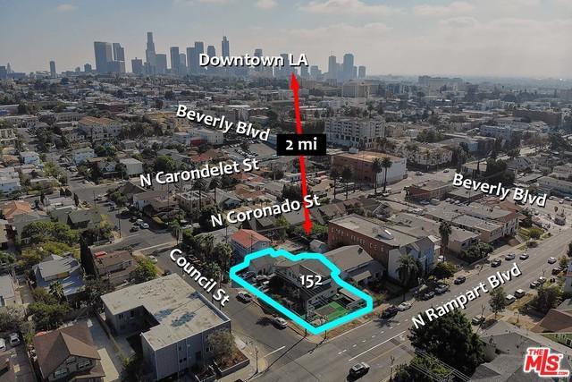 152 N Rampart Boulevard, Los Angeles (City), CA 90026 (MLS #18408960) :: The Jelmberg Team