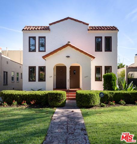 530 N Harper Avenue, Los Angeles (City), CA 90048 (MLS #18412514) :: The Jelmberg Team