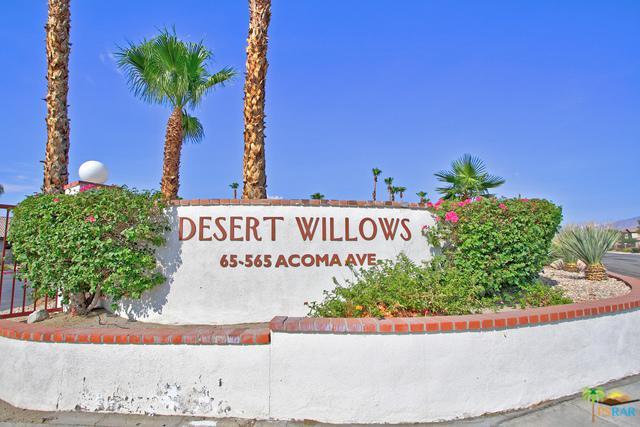 65565 Acoma Avenue #102, Desert Hot Springs, CA 92240 (MLS #18413818PS) :: The Sandi Phillips Team