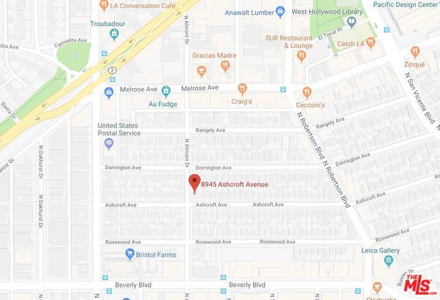 8945 Ashcroft Avenue, West Hollywood, CA 90048 (MLS #18415476) :: The Jelmberg Team