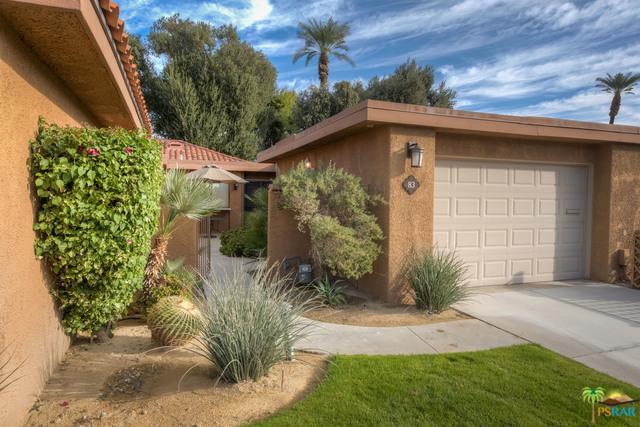 83 Sunrise Drive, Rancho Mirage, CA 92270 (MLS #18418050PS) :: The John Jay Group - Bennion Deville Homes