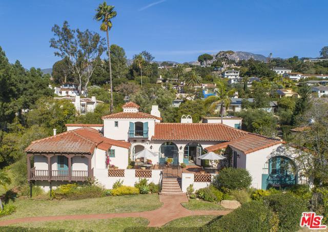 1806 El Encanto Road, Santa Barbara, CA 93103 (MLS #19421070) :: The John Jay Group - Bennion Deville Homes