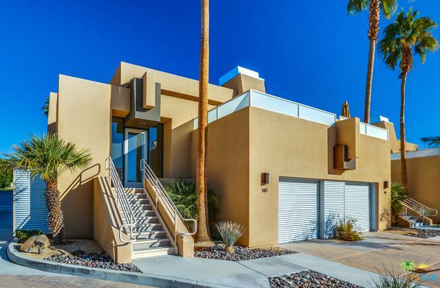 100 E Stevens Road #507, Palm Springs, CA 92262 (MLS #19422690PS) :: The Jelmberg Team