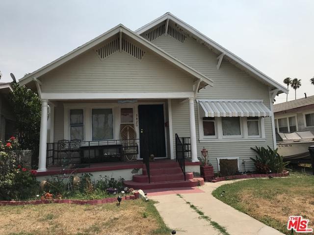 5420 S Wilton Place, Los Angeles (City), CA 90062 (MLS #19424282) :: The Sandi Phillips Team