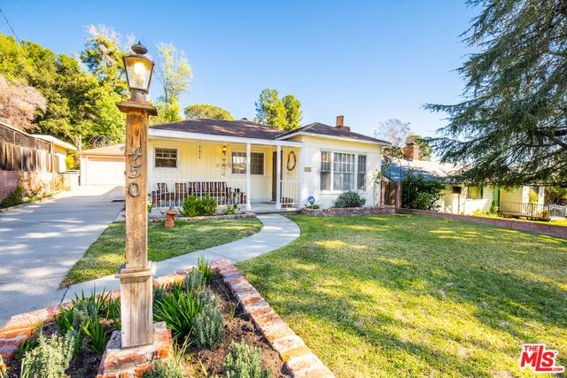 450 Foothill Avenue, Sierra Madre, CA 91024 (MLS #19430112) :: The Jelmberg Team