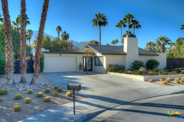 563 N Sunset Way, Palm Springs, CA 92262 (MLS #19432446PS) :: Brad Schmett Real Estate Group