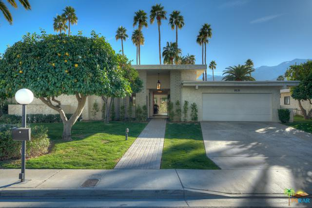 1631 E Twin Palms Drive, Palm Springs, CA 92264 (MLS #19432852PS) :: The Jelmberg Team