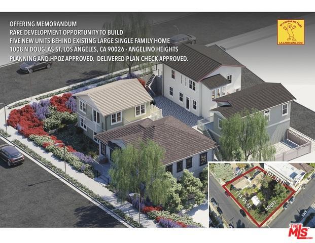 1008 Douglas Street, Los Angeles (City), CA 90026 (MLS #19433502) :: Deirdre Coit and Associates