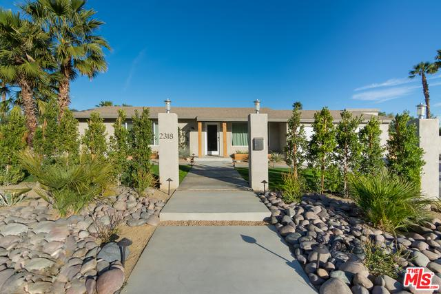 2318 E Acacia Road, Palm Springs, CA 92262 (MLS #19434944) :: Brad Schmett Real Estate Group