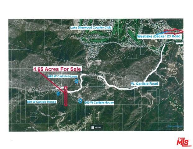 0 W Carlisle, Westlake Village, CA 91361 (MLS #19443664) :: Hacienda Group Inc