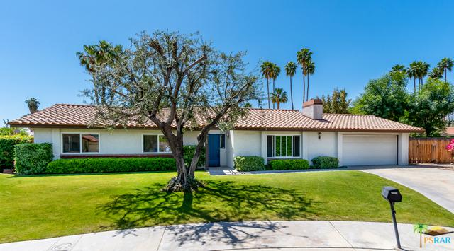 3165 E Loma Vista Circle, Palm Springs, CA 92264 (MLS #19461800PS) :: The John Jay Group - Bennion Deville Homes