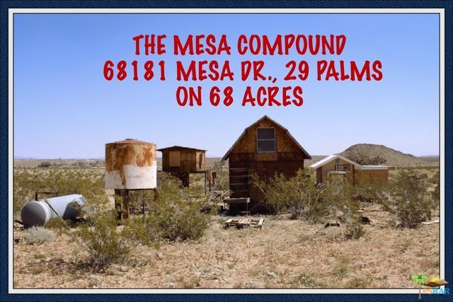 68181 Mesa Dr, 29 Palms, CA 92277 (MLS #19465088PS) :: The John Jay Group - Bennion Deville Homes