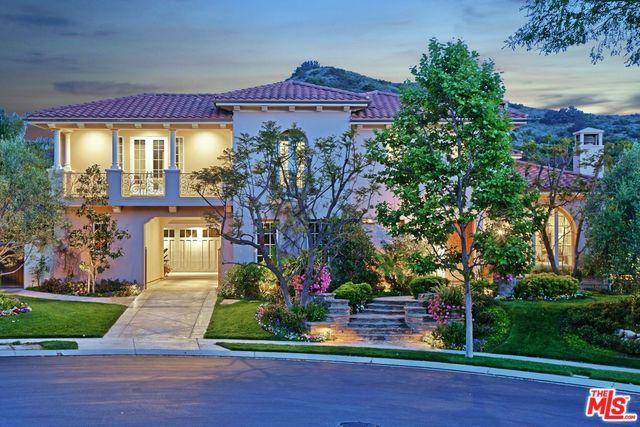 25002 Prado De Los Pajaros, Calabasas, CA 91302 (MLS #19466304) :: The John Jay Group - Bennion Deville Homes