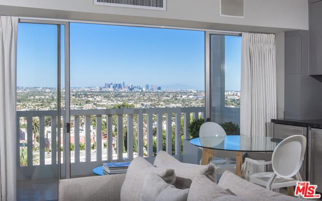 999 N Doheny Drive #808, West Hollywood, CA 90069 (MLS #19466490) :: The Jelmberg Team