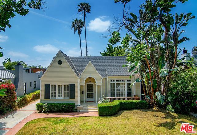 741 N Martel Avenue, Los Angeles (City), CA 90046 (MLS #19466708) :: The John Jay Group - Bennion Deville Homes