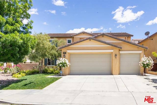 27360 Rose Mallow Lane, Canyon Country, CA 91387 (MLS #19467484) :: The John Jay Group - Bennion Deville Homes