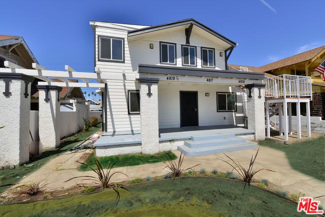 4817 S Gramercy Place, Los Angeles (City), CA 90062 (MLS #19469828) :: Desert Area Homes For Sale