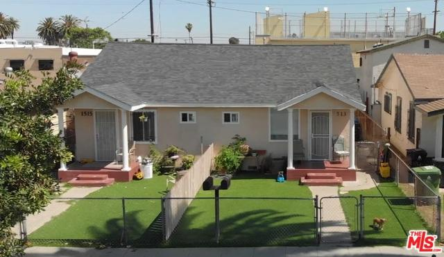 1513 W 58th Place, Los Angeles (City), CA 90047 (MLS #19473634) :: The Jelmberg Team