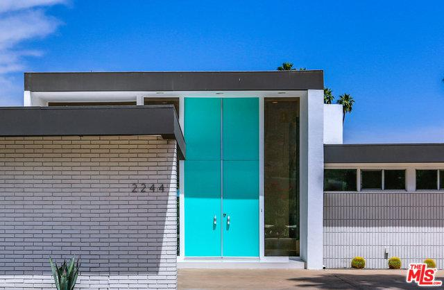 2244 S Yosemite Drive, Palm Springs, CA 92264 (MLS #19473654) :: The John Jay Group - Bennion Deville Homes